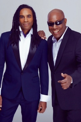 Milli Vanilli is BACK! Face meets Voice.